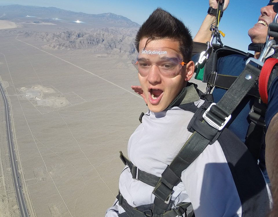 Sin City Skydiving Las Vegas