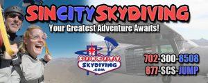 Sin City Skydiving Las Vegas